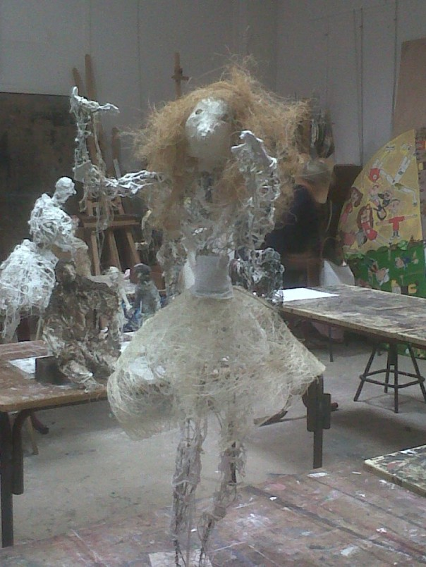 sculpture atelier