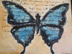 Acrylique sur toile Nadia Bourgeois