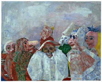 ENSOR MASQUES RAILLANT LA MORT
